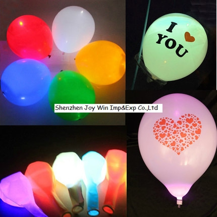 Promotional Flash Color Changing Ballon for Cheering Festival