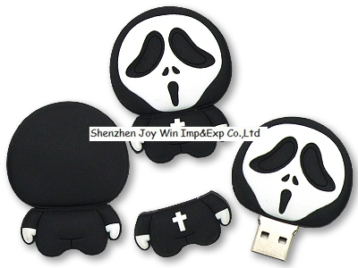 Promotional USB Flash Disk for Holloween Day