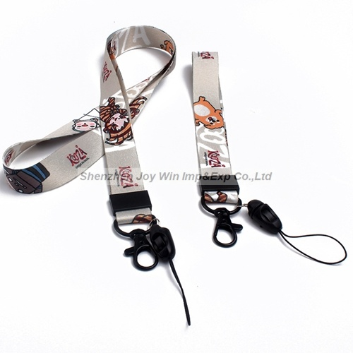Polyester Heat Transfer Lanyard with Buckle