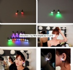 Promotional Led Earrings,Flash Led Earring,Round Led Earring
