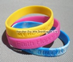 Silicone Wrist Band,Debossed Silicone Wristband