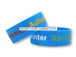 Once Inch Silicone Wristband for Business