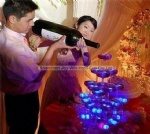 Promotional Colorful Changing LED Ice Cube for Wedding Decorations