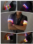 Promotional LED Flash Armband, Sporting LED Wrist Light Band