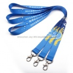 Promotional Heat Transfer Polyester Lanyard for Exhibition
