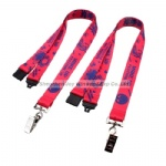 Promotional Silkscreen Polyester Lanyard for Fair ID